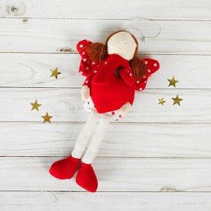 Подвеска «Ангелок», кукла, звёзды на крыльях, цвета МИКС