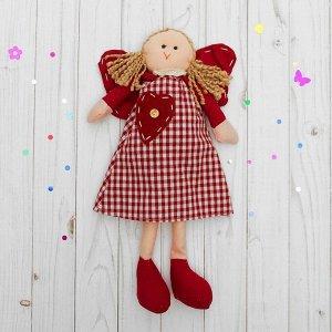 Подвеска «Ангелочек», кукла, блондинка с хвостиками, цвета МИКС