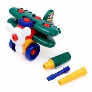 Конструктор для малышей «Самолёт», 28 деталей