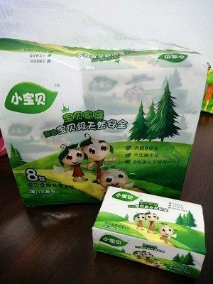 Салфетки бумажные 3-слойные, мягкая упаковка