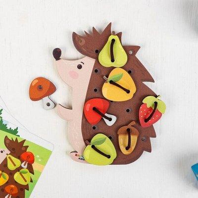 Деревянные игрушки - подарок природы детям!  — Шнуровки — Деревянные игрушки