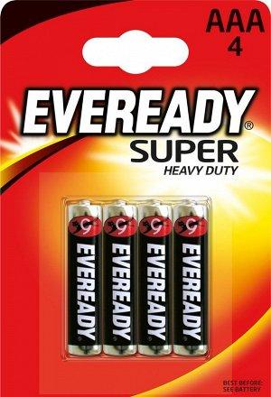 Батарейка EVEREADY Super HD AAА FSB4-R03 в уп.4шт