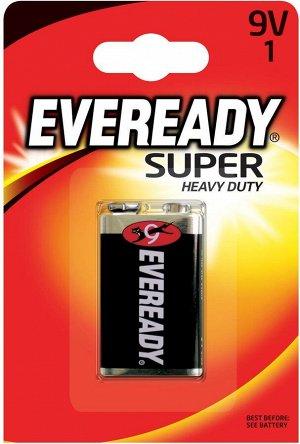 Батарейка EVEREADY Super HD 9V FSB1-6F22 в уп.1шт