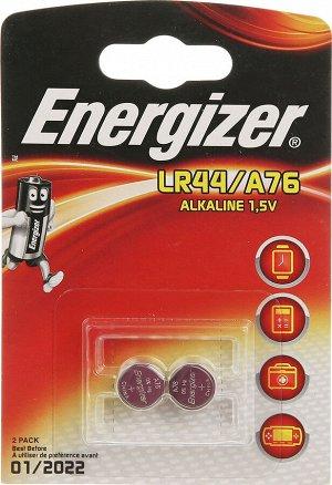 Батарейка ENERGIZER Alkaline LR44/76 FSB2 в уп.2шт
