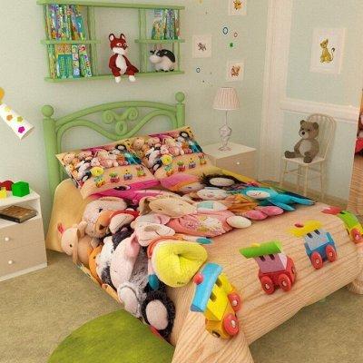 Фотошторы, фототюль и домашний текстиль с фотопечатью (13) — Покрывала детские Атлас 110*140 — Покрывала и пледы