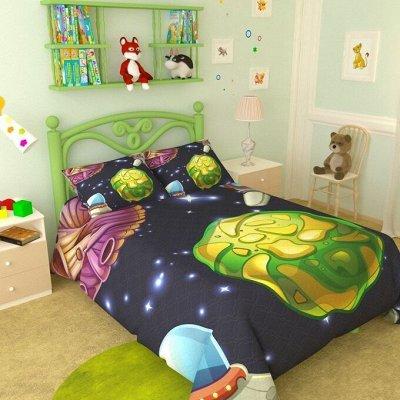 Фотошторы, фототюль и домашний текстиль с фотопечатью (13) — Покрывала детские Атлас 145*215 — Покрывала и пледы