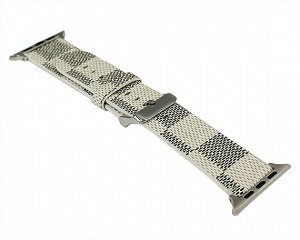 Ремешок Watch Series 42mm/44mm LV luxury-leather 7#