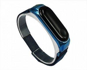 Ремешок Xiaomi Mi Band 3/4 Milanese Loop синий