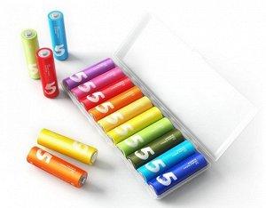 Батарейка АА Xiaomi Rainbow Battery LR06 10-BL, цена за 1 упаковку
