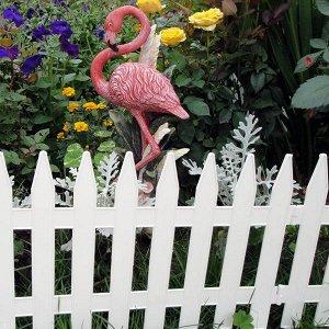 Забор декоративный Колышки №1 белые