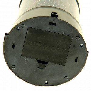 """Ночник-проектор """"Звёздное небо"""" 4 LED. 12 см. (DC/5V. USB или 3*АА не в комплекте)"""