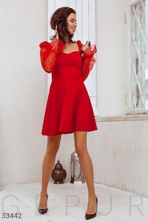 Романтичное расклешенное платье