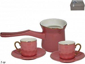 Кофейный набор из 5пр. в под.уп.(х18)Фарфор  Фарфор Кофейный набор из 5пр. в под | Кофеварки и кофемолки