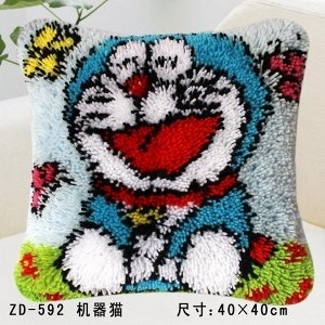 Порисуем? Картины по номерам и алмазная мозаика 17  — Вышивка подушек (ковровая техника), 40х40 см — Наборы