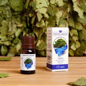 """Эфирное масло """"Чайное дерево"""", флакон-капельница, аннотация, 10 мл, дезинфицирующее"""