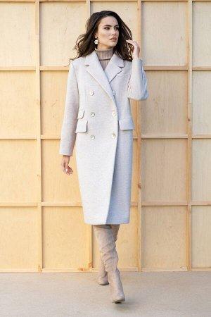 Пальто Пальто ЮРС 19-231/1  Состав ткани: ПЭ-68%; Спандекс-4%; Шерсть-30%;  Рост: 164 см.  Совершенно невозможно представить себе гардероб женской одежды без оригинального, стильного и модного пальто