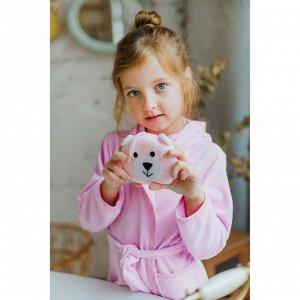 Мочалка детская «Зверюшки», цвет МИКС