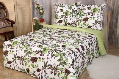 Яркие и красочные комплекты постельного белья — КПБ 1.5сп ПОПЛИН