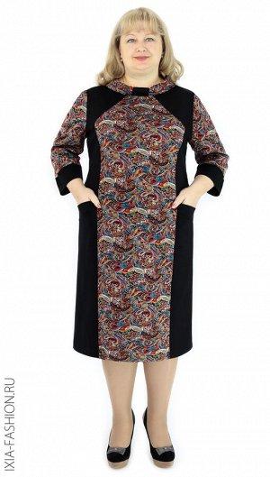 Платье Платье из трикотажа, 54-60, длина 103 см, с краманами, свободного покроя.