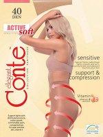 Active Soft 40 Колготки с утягивающими шортиками для чувствительной кожи