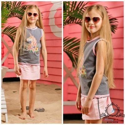 №129 -✦Bloomy-line✦ детская мода для маленьких модниц.Лето — Костюмы — Комбинезоны и костюмы