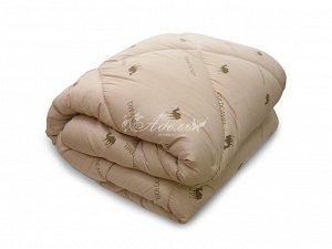 """Одеяло """"Верблюд"""" зима тик 200*220 (вес 2600гр)"""