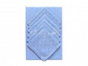 Голубая лагуна Скатерть 140*210+салфетка 30*30(6шт) трикот