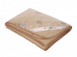 """Одеяло """"Овечья шерсть"""" стеганое облегч. тик 140х205 (150 г/м2)"""
