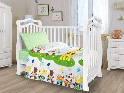 Яркие и красочные комплекты постельного белья — КПБ Ясельное на резинке