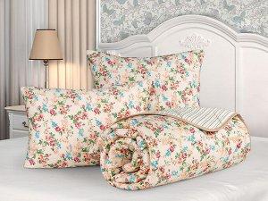 "Одеяло ""Бамбук"" стеганое облегч. сатин 172*205(плотность150г/м2) диз.Мадонна"