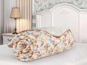 """Одеяло """"Бамбук"""" стеганое всесезонное сатин 172х205 (плотность 300г/м2) Мадонна"""