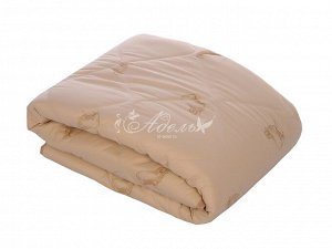 """Одеяло """"Овечья шерсть"""" стеганое всесезон тик 140х205 (300 г/м2)"""
