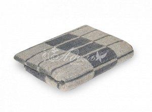 Одеяло п/ш 70%шерсти 140х205 клетка (420гр)