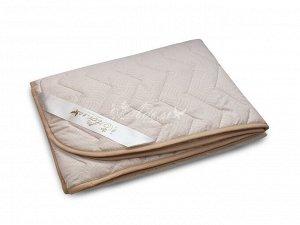 """Одеяло """"Овечья шерсть"""" стеганое облегч. микрофибра 172*205 (плотность 150г/м2)"""