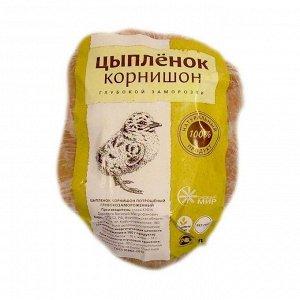 Цыпленок корнишон желтый, замороженный, 350г