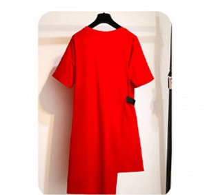 Платье Платье. Размер: (бюст, длина см) 2XL (112, 100), 3XL (122, 101), 4XL (132, 102), 5XL (142, 103), 6XL (152, 104).