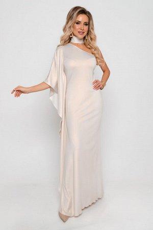Платье Длина платья измеряется по спинке от основания шеи до линии низа изделия и для всех предлагаемых размеров (42 - 52) составляет 153 см. Основная ткань: плательно-блузочного ассортимента. Особенн