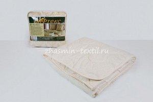 Одеяло Т025 бамбук, 300 г/м?, поплекс бежевый