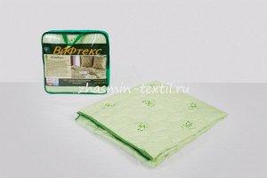 Одеяло Т024 бамбук, 150 г/м?, поплекс зеленая ветка