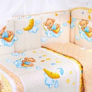 """Бортики в кроватку """"Сладкие сны"""""""
