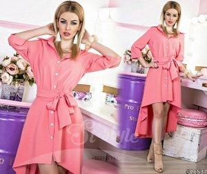 Платье - Рубашка 21537