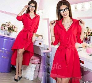 Платье - Рубашка 21536
