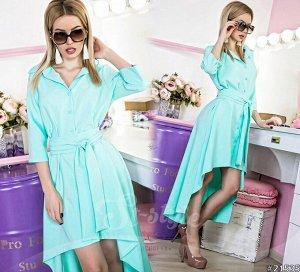 Платье - Рубашка 21535