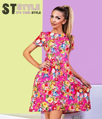 ST STYLE🌸 NORM SIZE  весна-лето 2021 — Сарафаны и повседневка — Повседневные платья