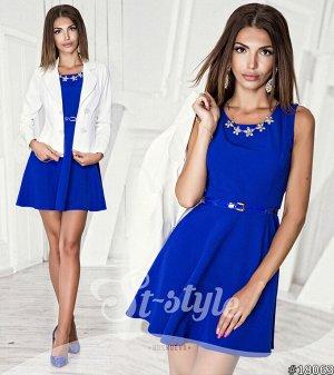 Платье + Пиджак 18063