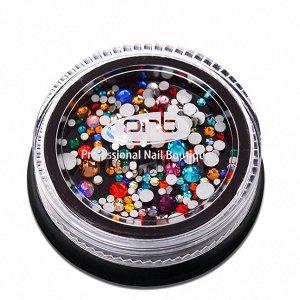 Стразы PNB разноцветные миксы SS-mix 200 шт