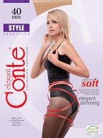 Style 40 Колготки с корректирующими трусиками для чувствительной кожи