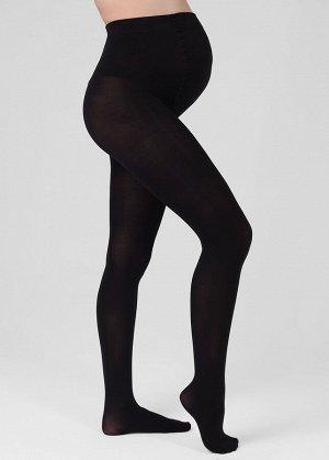 Колготки для беременных хлопковые 300 den черные