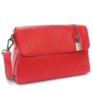 Женская сумка Borgo Antico. Кожа. K 202 bright red
