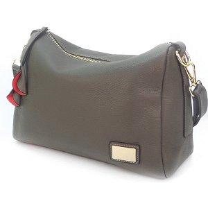 Женская сумка Borgo Antico. Кожа. 7173 grey